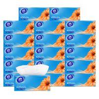 维达 纸巾面巾纸抽纸超韧3层110抽x18包 V2288A